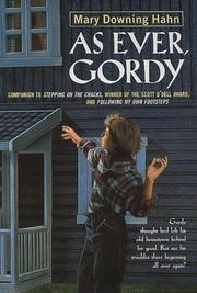 Cover of: As Ever, Gordy | Mary Downing Hahn