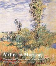 Cover of: Millet to Matisse
