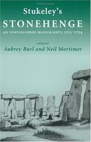 "Cover of: Stukeley's ""Stonehenge"""