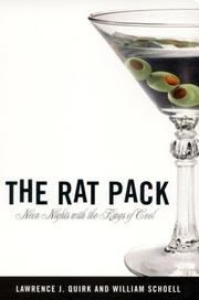 Cover of: The Rat Pack | Lawrence J. Quirk