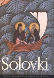 Cover of: Solovki