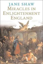 Cover of: Miracles in Enlightenment England