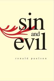Cover of: Sin and Evil