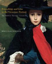 Cover of: Friendship and Loss in the Victorian Portrait