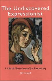 Cover of: The undiscovered expressionist