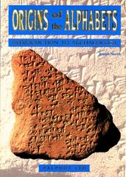 Cover of: Origins of the Alphabets