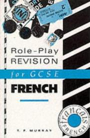 Cover of: Role-play Revision for General Certificate of Secondary Education French (Role-play Revision for GCSE)