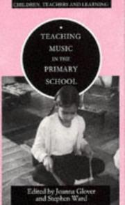 Cover of: Teaching Music in the Primary School