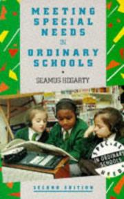 Cover of: Meeting special needs in ordinary schools