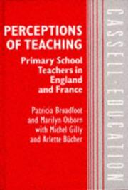 Cover of: Perceptions of teaching