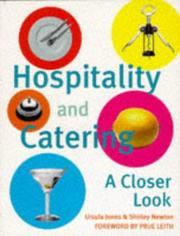 Hospitality and Catering by Ursula Jones, Shirley Newton, Pauline Dixon