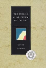 Cover of: The English curriculum in schools | Louise Poulson