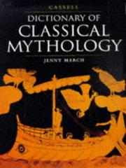 Cover of: Cassell dictionary of classical mythology