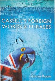 Cover of: Cassell's foreign words and phrases