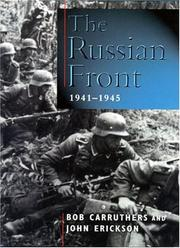 Cover of: The Russian Front, 1941-1945 | Bob Carruthers