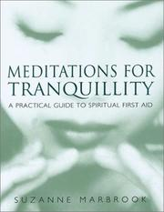 Cover of: Meditations for tranquillity