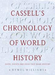 Cover of: Cassell's Chronology of World History