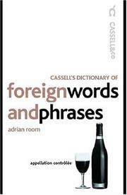 Cover of: Cassell's Dictionary of Foreign Words and Phrases
