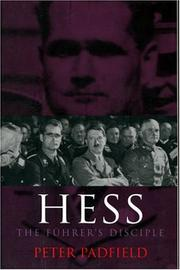 Hess by Peter Padfield