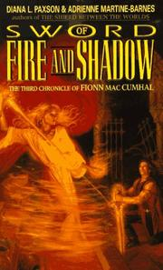 Cover of: Sword of Fire and Shadow | Diana L. Paxson, Adrienne Martine-Barnes