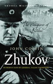 Cover of: Zhukov (Great Commanders)