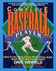 Cover of: complete baseball player | Dave Winfield