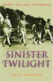 Cover of: Sinister twilight