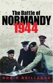 Cover of: The Battle of Normandy 1944