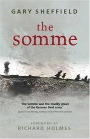 Cover of: The Somme | Gary Sheffield