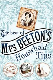 Cover of: The Best of Mrs Beeton's Household Tips