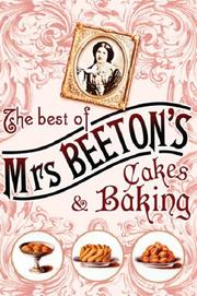 Cover of: The Best of Mrs Beeton's Cakes and Baking