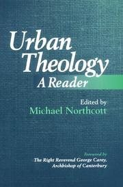 Cover of: Urban Theology | Michael Northcott