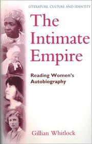 Cover of: The intimate empire | Gillian Whitlock