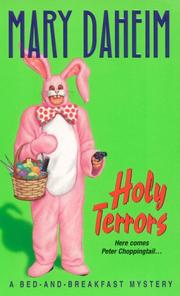 Cover of: Holy Terrors