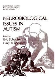 Cover of: Neurobiological issues in autism |