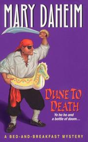 Cover of: Dune to Death: a bed-and-breakfast mystery