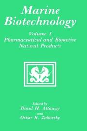 Cover of: Marine biotechnology |