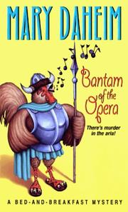 Cover of: Bantam of the opera