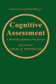 Cover of: Cognitive assessment |