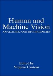 Cover of: Human and Machine Vision | Virginio Cantoni