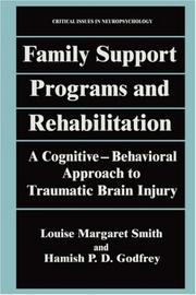 Cover of: Family support programs and rehabilitation
