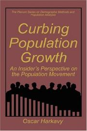Cover of: Curbing population growth