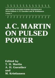 Cover of: J.C. Martin on pulsed power | Martin, J. C.