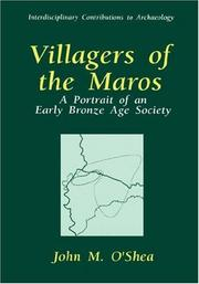 Cover of: Villagers of the Maros