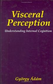 Cover of: Visceral perception