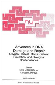 Cover of: Advances in DNA Damage & Repair |
