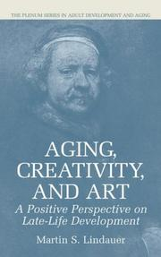 Cover of: Aging, creativity, and art