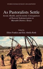 Cover of: As pastoralists settle