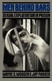 Cover of: Men behind bars