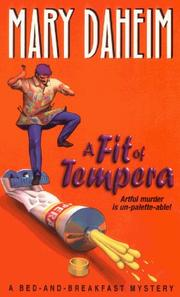 Cover of: A Fit of Tempera